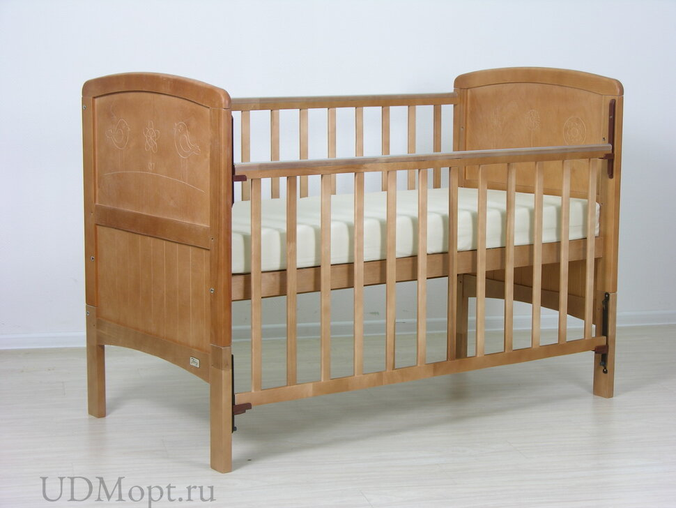Детская кровать-трансформер Фея 820 медовый оптом и в розницу