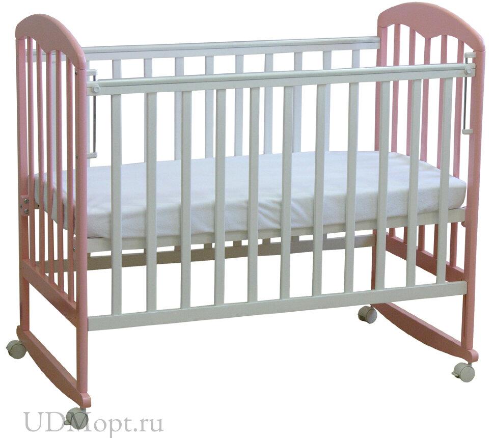 Кровать детская Фея 323 белый-магнолия оптом и в розницу