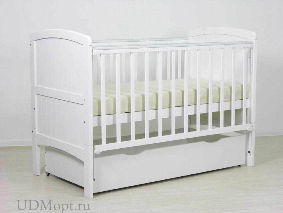 Детская кровать-трансформер Фея 821 белый оптом и в розницу