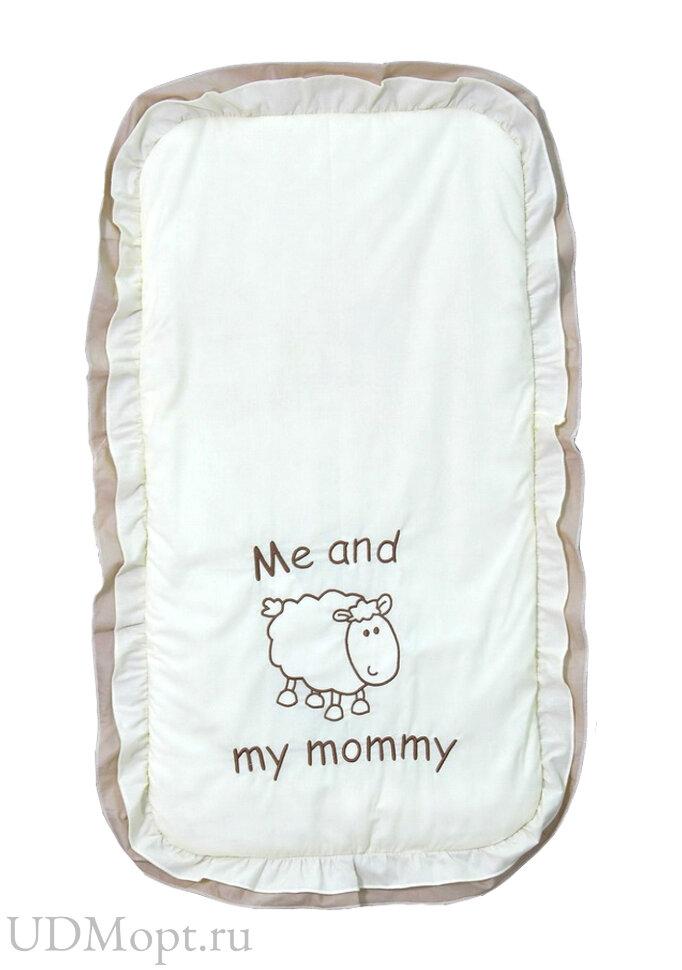 """Комплект в детскую коляску Fairy """"Я и моя мама"""" оптом и в розницу"""