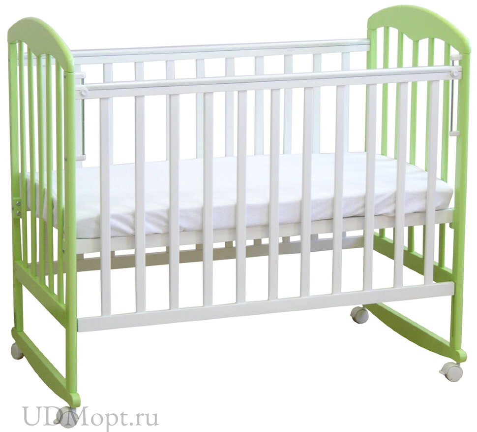 Кровать детская Фея 323 белый-мята оптом и в розницу