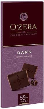 «OZera», шоколад горький Dark, 90г оптом и в розницу