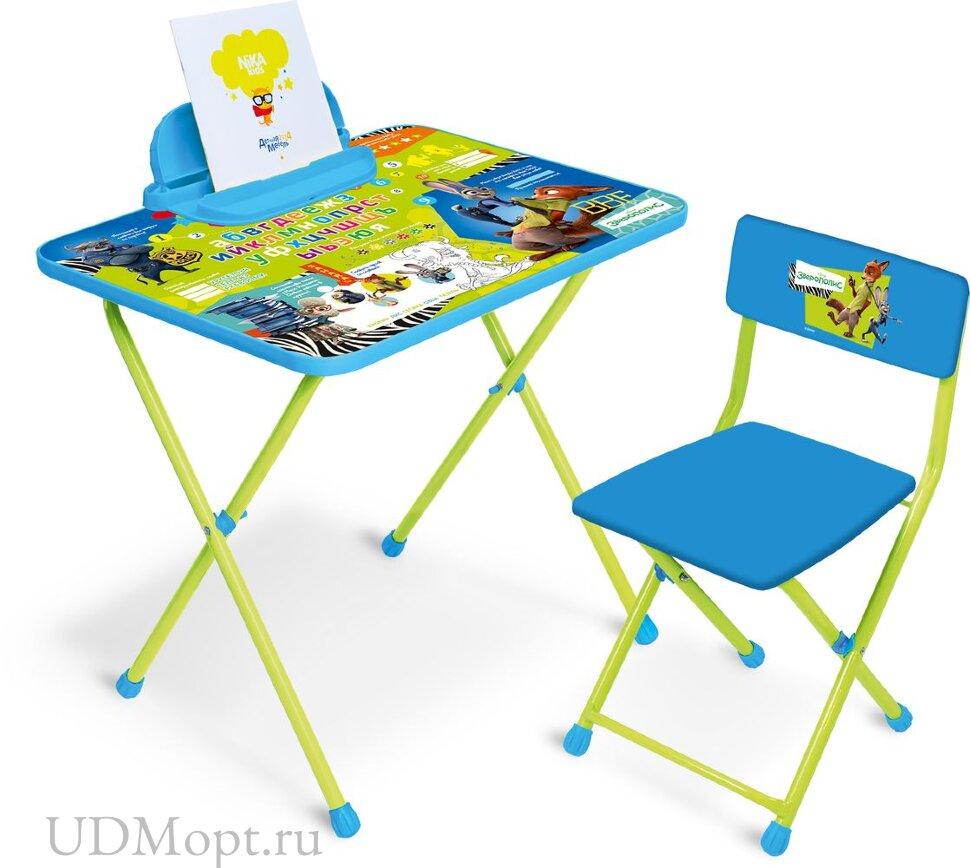 Комплект детской мебели Nika Disney Зверополис Д2З оптом и в розницу