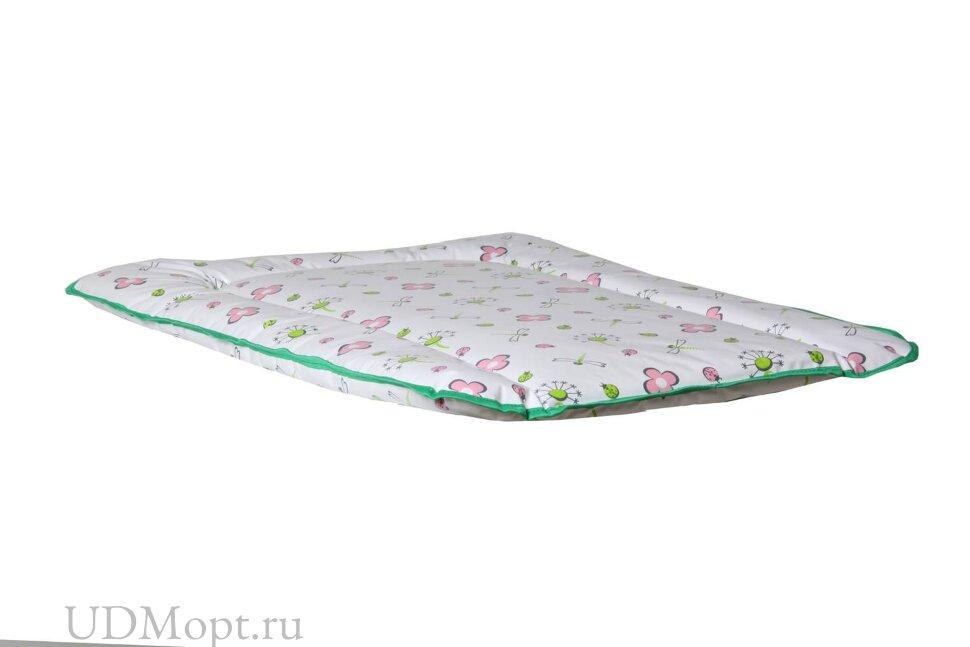 Матрас для пеленания Polini kids Стрекозы на комод, 70х50 см оптом и в розницу