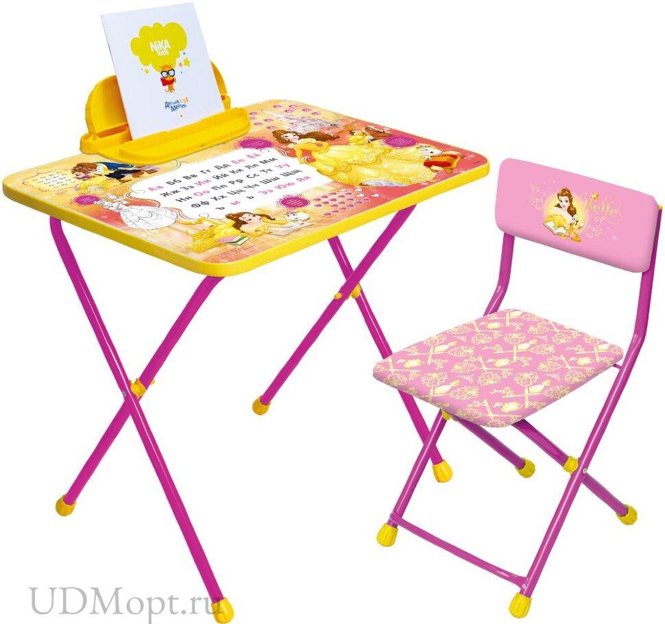 Комплект детской мебели Nika Принцессы Disney Д4 оптом и в розницу