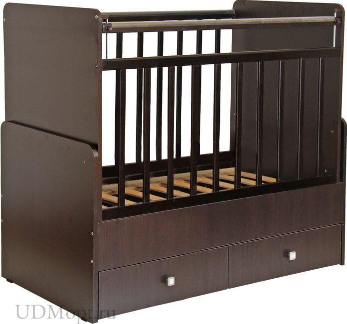 Кроватка детская Фея 720 венге оптом и в розницу