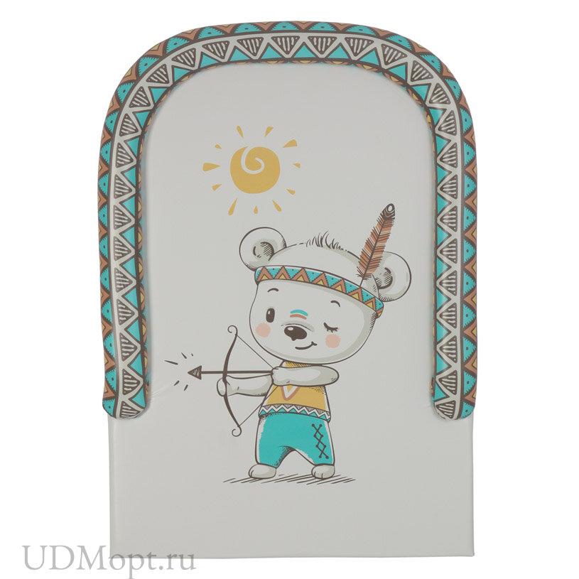 Доска пеленальная Polini kids Храбрый мишка с бортиками, для детских кроватей оптом и в розницу