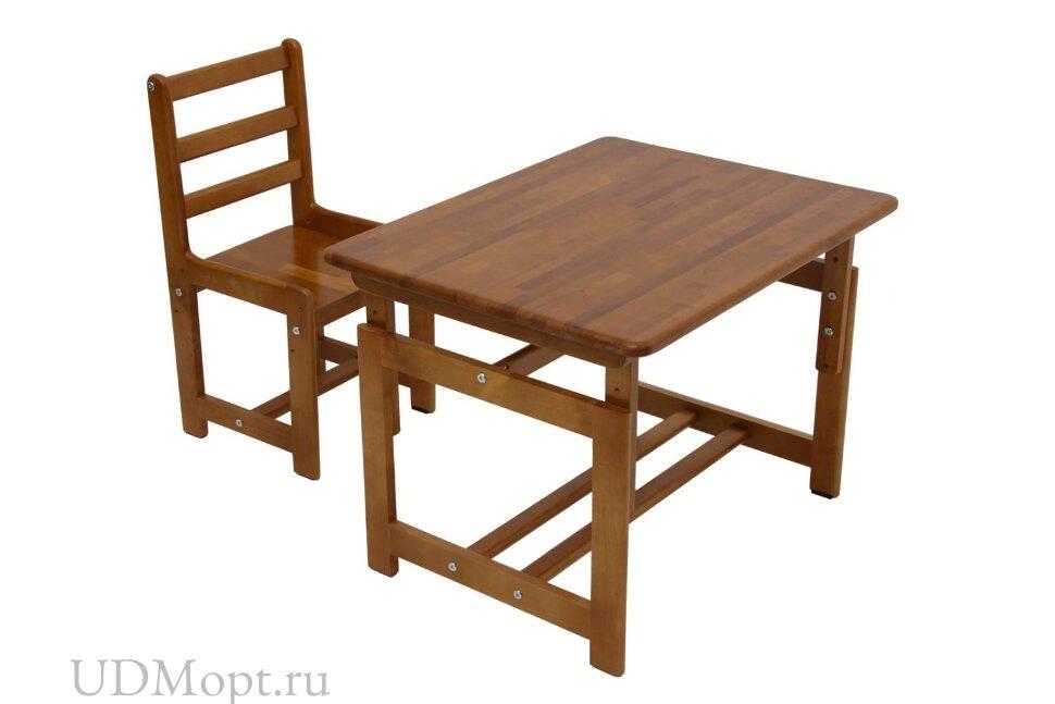 Комплект детской мебели Фея Растем вместе орех оптом и в розницу