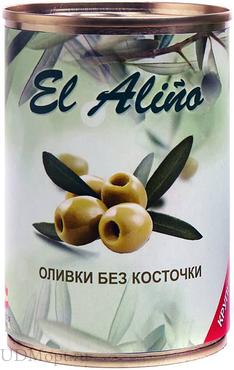 «EL alino», оливки крупные без косточки, 270г оптом и в розницу