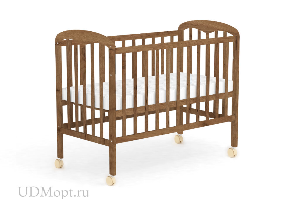 Кровать детская Фея 323 табачный дуб оптом и в розницу