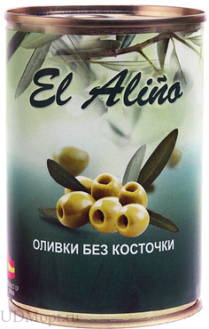 «EL alino», оливки без косточки, 270г оптом и в розницу