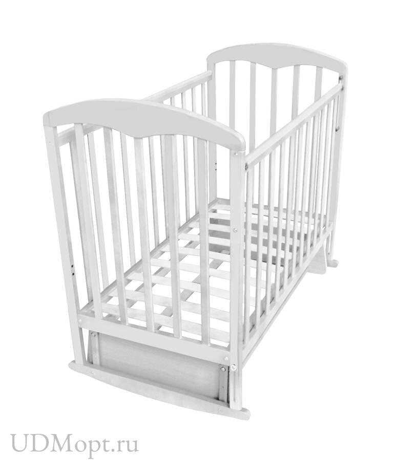 Кровать детская Фея 324 белый оптом и в розницу