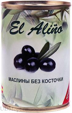 «EL alino», маслины крупные без косточки, 270г оптом и в розницу