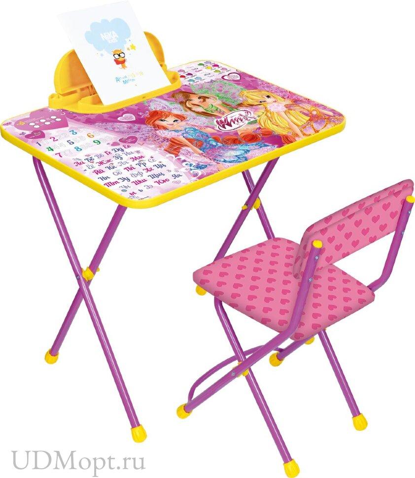 Комплект детской мебели Nika Винкс Азбука оптом и в розницу