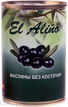 «EL alino», маслины без косточки, 270г оптом и в розницу