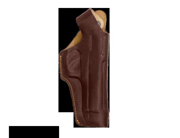 Кобура поясная Дш Beretta М 92 / кожа / коричневый оптом и в розницу