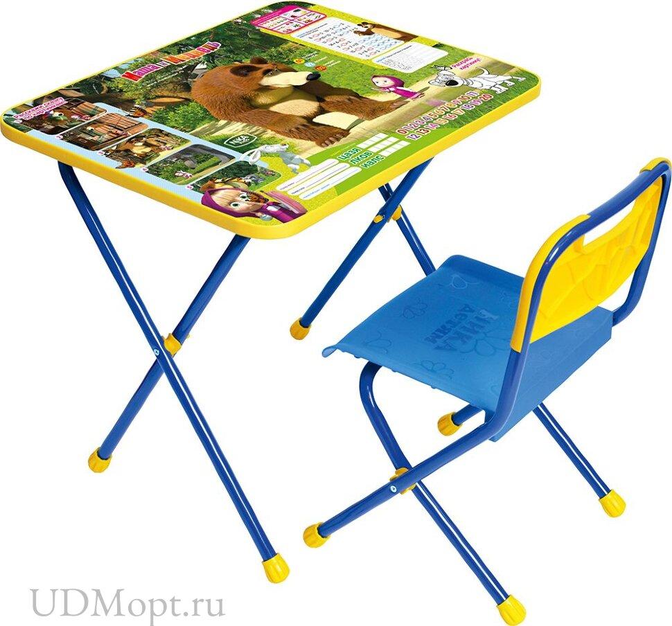 Комплект детской мебели Nika Маша и медведь КП для малышей оптом и в розницу