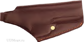 * Кобура поясная Дш BLOW F92 / кожа / коричневый оптом и в розницу