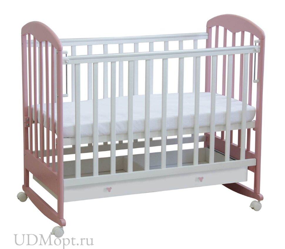 Кровать детская Фея 325 белый-магнолия оптом и в розницу