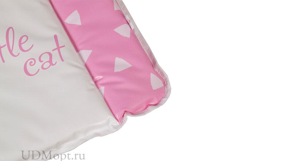 Матрас для пеленания Polini Kids Disney baby Кошка Мари 70х50, розовый оптом и в розницу