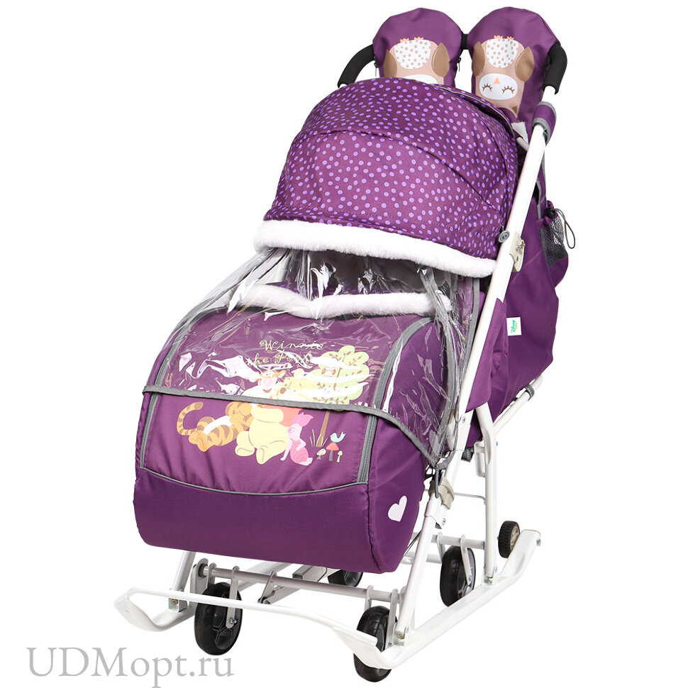 Санки-коляска Disney baby 2 оптом и в розницу