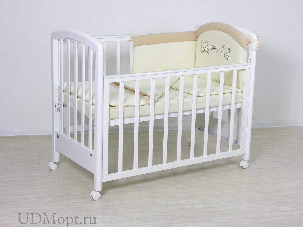 Комплект в кроватку Fаiry 3 пр. полулен оптом и в розницу