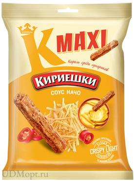 «Кириешки Maxi», сухарики со вкусом соуса начо, 60г оптом и в розницу