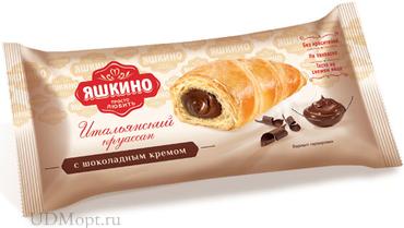 «Яшкино», круассаны с шоколадным кремом, 45г оптом и в розницу