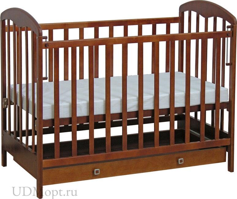 Кровать детская Фея 325 орех оптом и в розницу