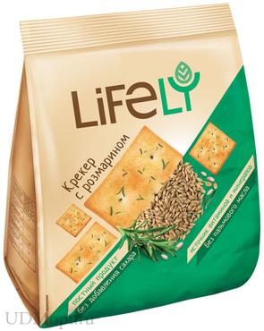 «LifeLY», крекер с розмарином, 180г оптом и в розницу