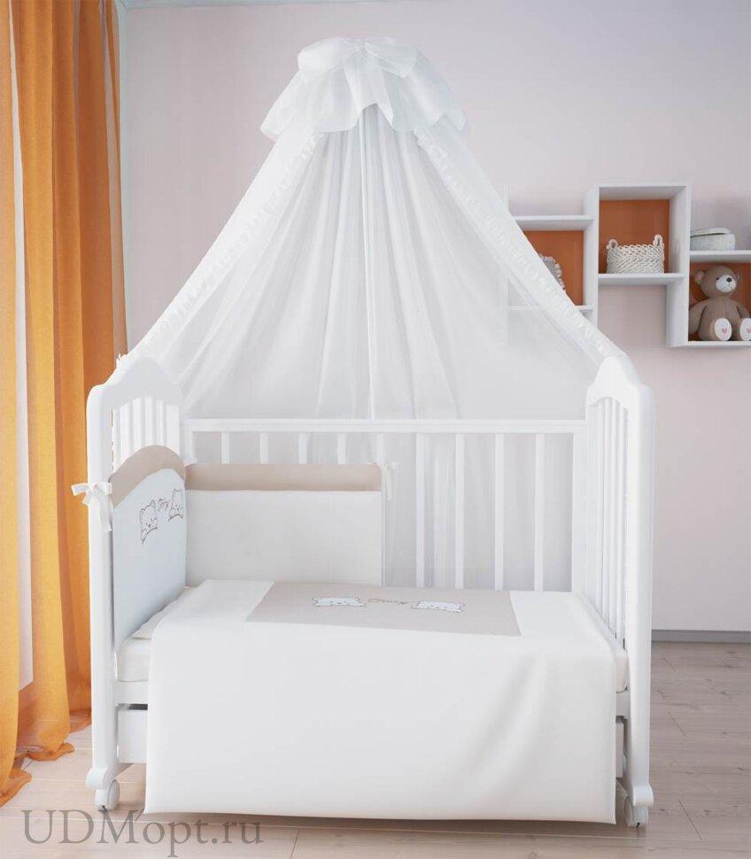Комплект в кроватку Fairy 7 пр. хлопок оптом и в розницу