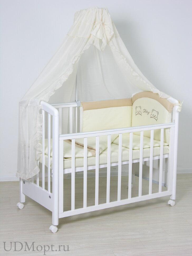 Комплект в кроватку Fairy 7 пр. полулен оптом и в розницу