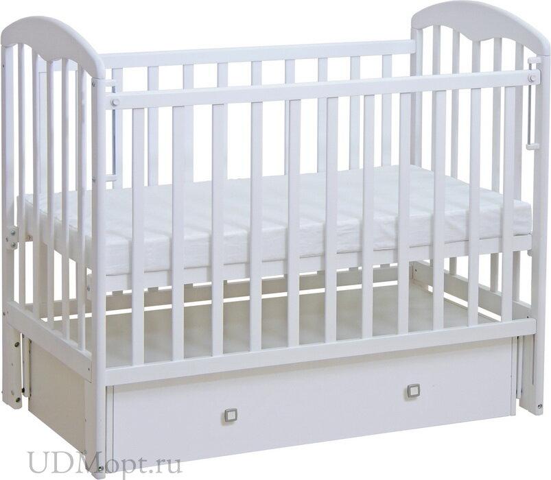 Кровать детская Фея 328 белый оптом и в розницу