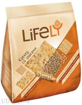 «LifeLY», крекер со злаками, 180г оптом и в розницу