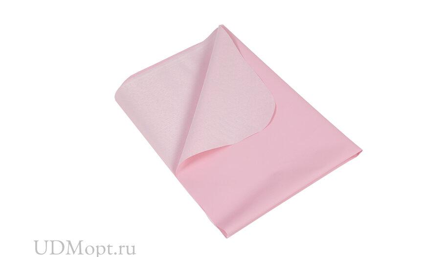 Пеленка-клеенка Фея 48х68 см, розовая оптом и в розницу