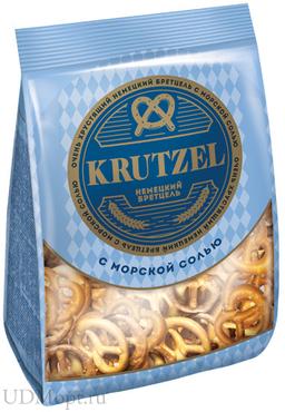 «Krutzel», крендельки «Бретцель» с солью, 250г оптом и в розницу
