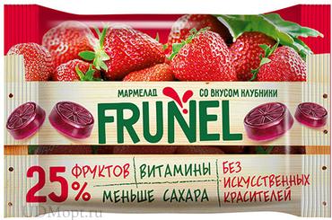 «Frunel», мармелад со вкусом клубники, 40г оптом и в розницу