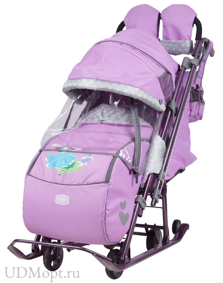 Санки-коляска Ника детям 7-4 оптом и в розницу