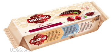 «Яшкино», печенье «Вишня», сдобное, 137г оптом и в розницу