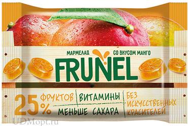 «Frunel», мармелад со вкусом манго, 40г оптом и в розницу