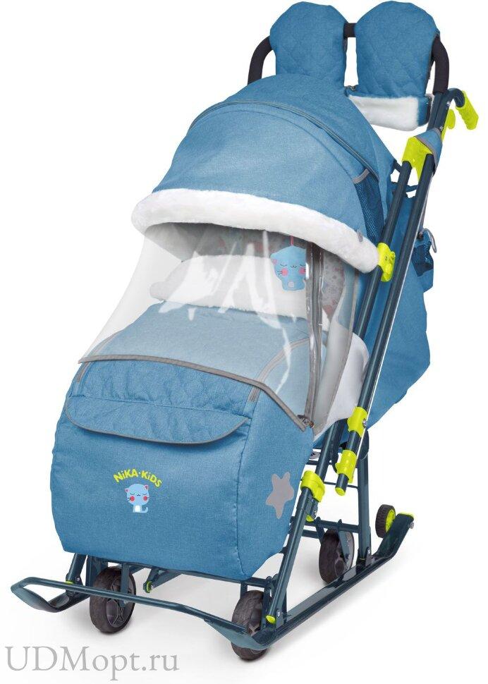 Санки-коляска Ника детям 7-3 оптом и в розницу