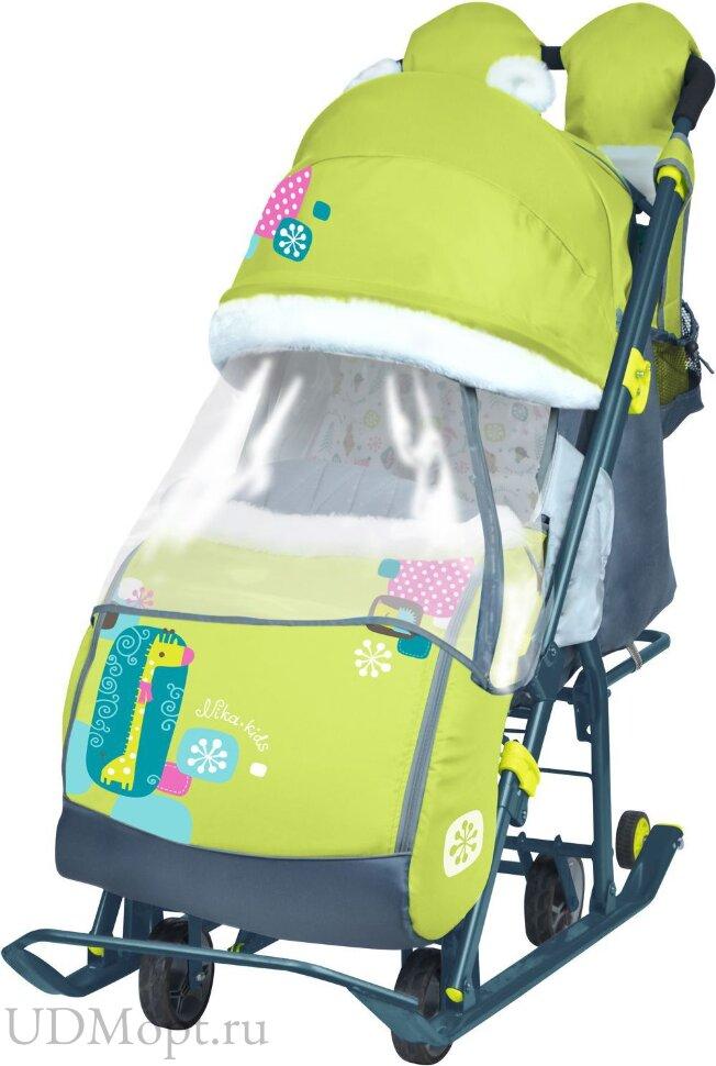 Санки-коляска Ника детям 7-2 оптом и в розницу