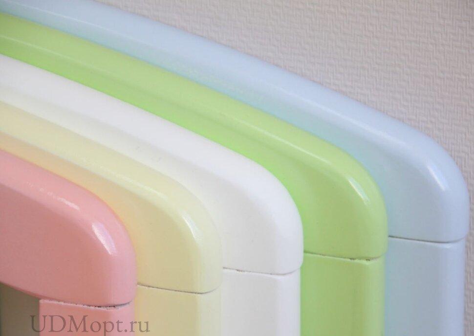 Кровать детская Фея 328 белый-ваниль оптом и в розницу