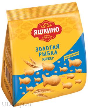 «Яшкино», крекер «Золотая рыбка», 180г оптом и в розницу