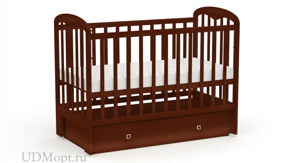 Кровать детская Фея 328 орех оптом и в розницу