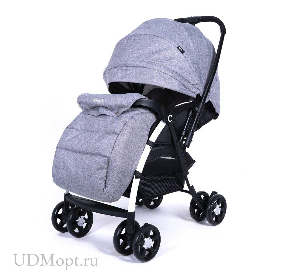 Детская коляска Tomix CARRI (HP-712ZG) Grey оптом и в розницу