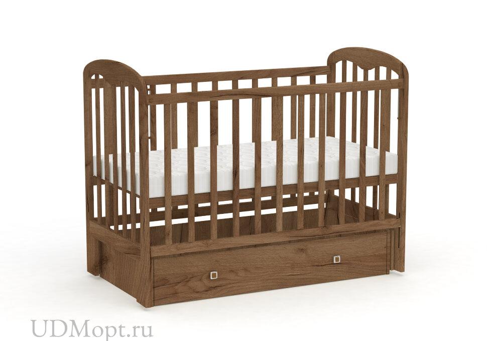 Кровать детская Фея 328 табачный дуб оптом и в розницу