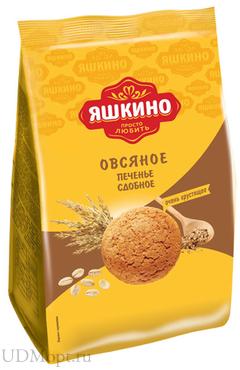 «Яшкино», печенье «Овсяночка», сдобное, 350г оптом и в розницу