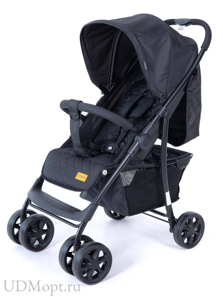 Детская коляска Tomix City 3 in 1 (HP-716 3 in 1) Black оптом и в розницу