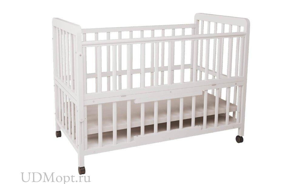 Кровать детская Фея 403 белая оптом и в розницу